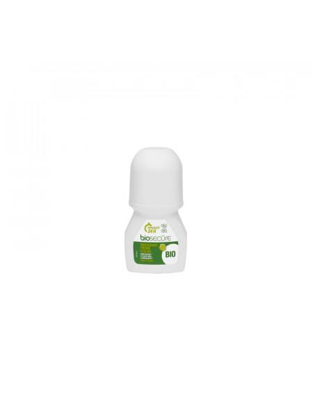 БИОСЕКУР Шариковый дезодорант с квасцами «БЕРГАМОТ», 50 мл