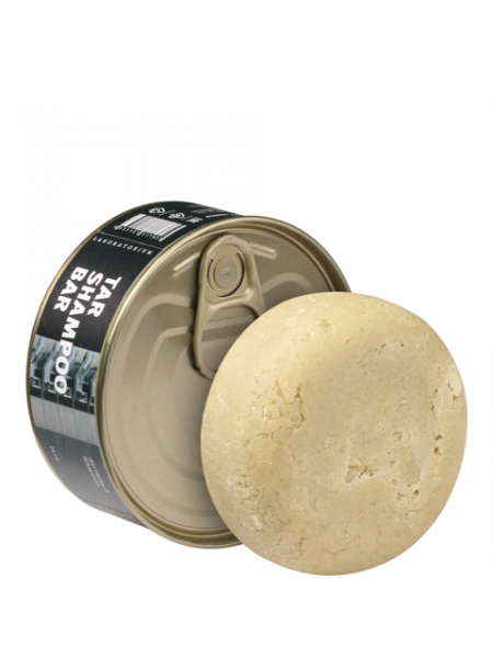 Твердый шампунь дегтярный (Tar shampoo bar), 75 гр