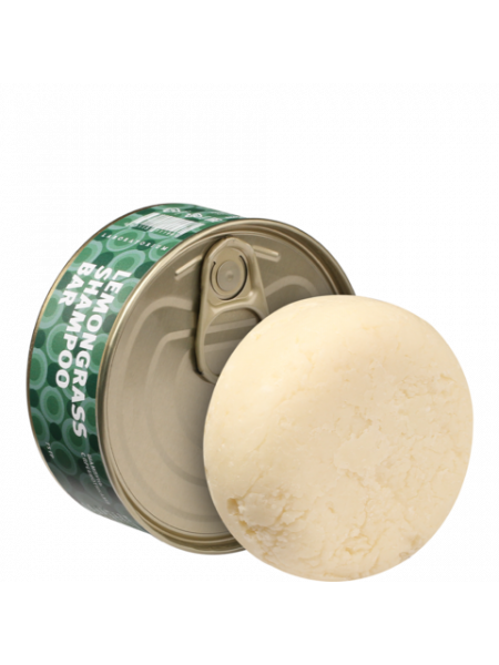 Твердый шампунь с пребиотиками (Lemongrass shampoo bar), 75 гр