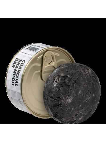 Твердый шампунь с углем (Charcoal shampoo bar), 75 гр