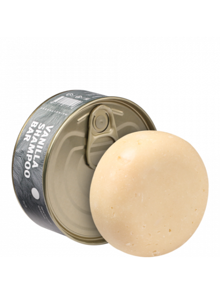 Твердый шампунь ванильный (Vanilla shampoo bar), 75 гр