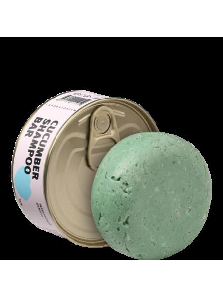 Твердый шампунь с огурцом (Сucumber shampoo bar), 75 гр