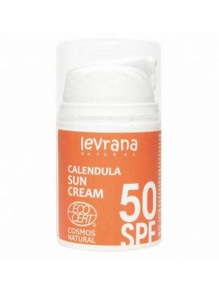 Солнцезащитный крем для тела Календула 50SPF 50мл