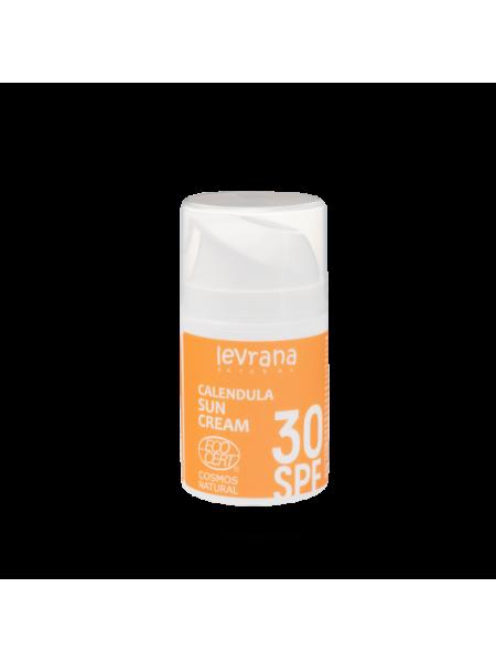 Солнцезащитный крем для тела Календула 30SPF 50мл годен до 06.05.21