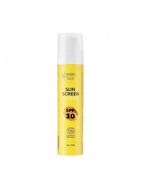 Крем солнцезащитный Mi&ko для лица и тела SPF30,100 мл