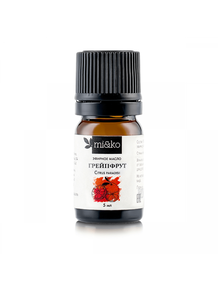 Эфирное масло Грейпфрут 5 мл, органик