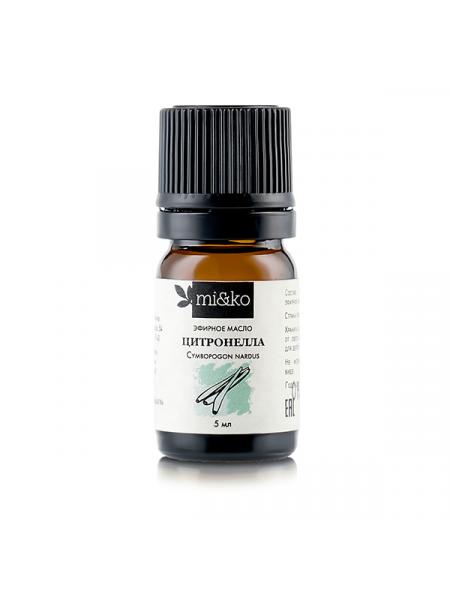 Эфирное масло Цитронелла 5 мл, органик