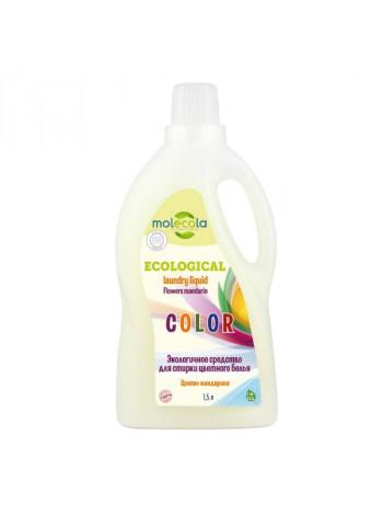 Гель для стирки цветного и линяющего  белья, экологичный  1,5л