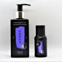 Lavender для интимной гигиены гель очищающий пребиотик бисаболол лаванда 45мл