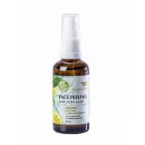 Пилинг для лица с АНА-кислотами для нормальной и смешанной кожи Organic Zone, 50мл