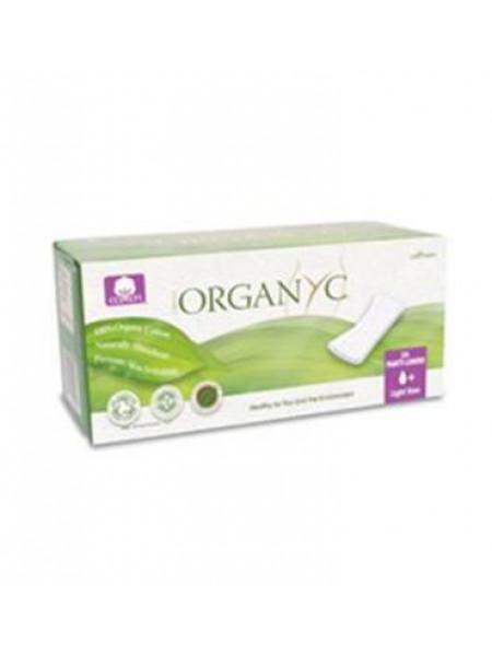 Прокладки на каждый день, Organyc 24 шт, 1+ капля