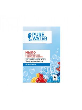 Хозяйственное мыло Pure Water с эфирными маслами 175 г