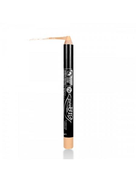 Консилер-карандаш 18 бежево-оранжевый PUROBIO, 2,3 гр