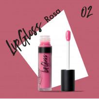 """Блеск для губ """"Тон 02 роза"""" PUROBIO, 4,8 мл"""