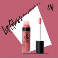 """Блеск для губ """"Тон 04 розовый грейпфрут"""" PUROBIO, 4,8 мл"""
