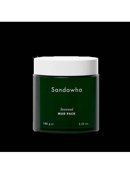 Маска очищающая с глиной и морскими водорослями Sandawha, 100 гр