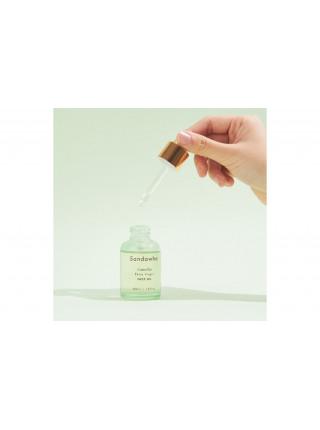 Масло питательное для лица на основе масла камелии японской холодного отжима Sandawha, 30 мл