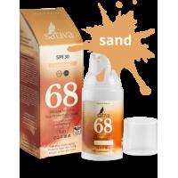 Крем «невидимый» минеральный солнцезащитный №68 Sand Beige, 30мл