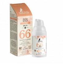 Крем ухаживающий солнцезащитный с тонирующим эффектом №66 Rose Beige, 30мл