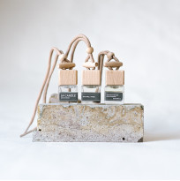 Автодиффузор Сандал / мускус SP Candle, 7 мл