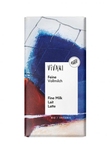 """Vivani Шоколад """"молочный"""" 26%, 100 гр (подходит для веганов)"""