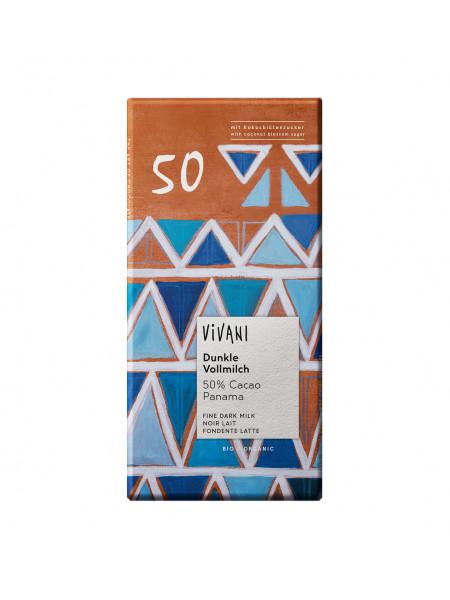 Vivani Темный молочный шоколад 50%, 80 гр