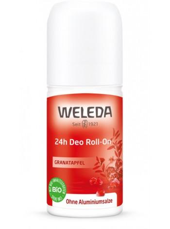 Гранатовый дезодорант 24 часа  Roll-On Weleda, 50 мл