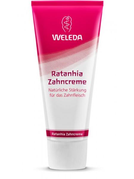 Растительная зубная паста Ратания Weleda, 75 мл