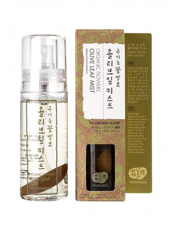 Спрей для лица на основе цветочных ферментов с экстрактом оливковых листьев
