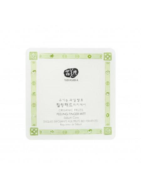 Спонжи для пилинга на основе фруктовых ферментов (для жирной кожи), миниатюра, 7 гр